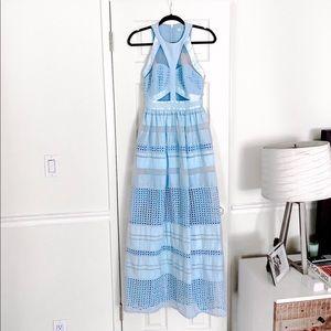 Three Floor maxi dress